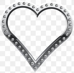 Heart - Clip Art Borders And Frames Image Openclipart PNG