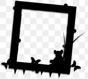 Picture Frame Black M - Background Black Frame PNG