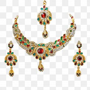Necklace - Necklace Earring Jewellery Costume Jewelry Gemstone PNG
