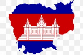Cambodia - Flag Of Cambodia Map National Flag PNG