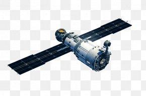 Satellite - International Space Station Zvezda Spacecraft Satellite PNG