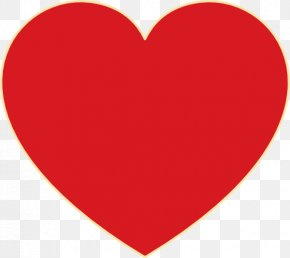 Picture Of Red Heart - Love Heart Love Heart Romance Clip Art PNG