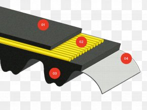 Belt - Timing Belt Natural Rubber Industry Toothed Belt PNG