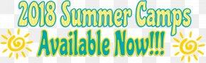 Summer Camp Text - Frank Brown Park Summer Camp Recreation Anklet PNG