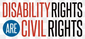 Americans With Disabilities Logo - Olmstead V. L.C. African-American Civil Rights Movement Americans With Disabilities Act Of 1990 Disability Rights Movement PNG