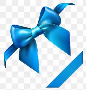 Blue Bow Clipart Picture - Blue Clip Art PNG
