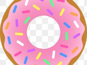 Donut Transparent Png Svg Vector - Heav'nly Donuts Coffee And Doughnuts National Doughnut Day Sprinkles PNG