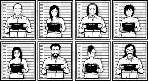 Vector Illustration Photo - Mug Shot Crime Euclidean Vector Police Station PNG