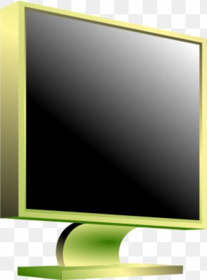 Computer Monitor Image - Television Set Computer Monitors LED-backlit LCD Clip Art PNG