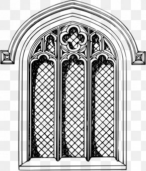 Window - Church Window Stained Glass Clip Art PNG