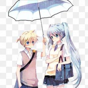 Hatsune Miku - Kagamine Rin/Len Vocaloid Hatsune Miku Drawing Image PNG