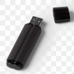 Black Open Mobile Hard Disk - USB Flash Drive Computer Hardware Data Storage PNG