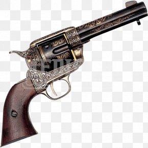 Weapon - American Frontier Revolver Firearm Pistol Fast Draw PNG