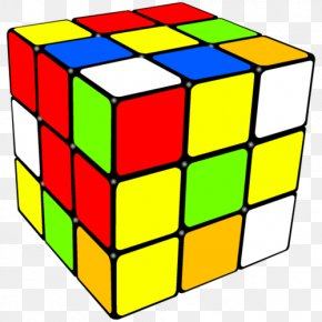 Cube - Rubik's Cube Jigsaw Puzzles Rubik's Revenge Coloring Book PNG