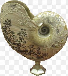Carving Snail - Sculpture Motif Icon PNG