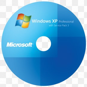 Windows CD Cover Pic - Windows XP Microsoft Windows Windows 7 Service Pack Compact Disc PNG