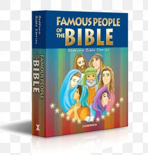 Book - Famous People Of The Bible: Bedtime Bible Stories Book Bible Story PNG