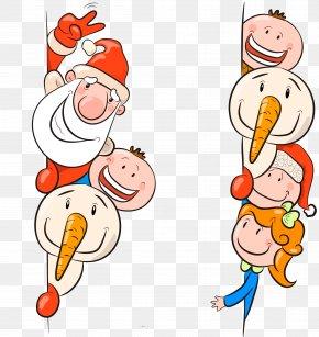 Vector Santa Claus - Santa Claus Child Christmas Illustration PNG
