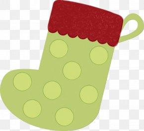 Christmas Stocking Green - Christmas Stocking PNG