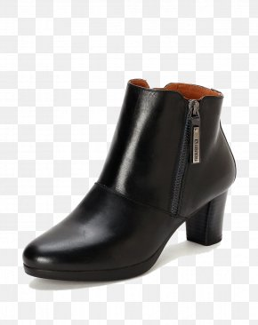 Round Mini Boots - Boot Leather Shoe High-heeled Footwear PNG