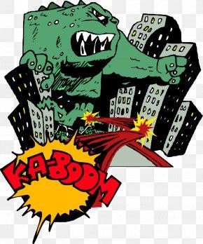 POP ART - Pop Art Monster PNG