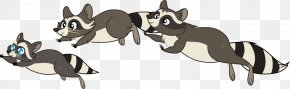 Raccoon Cartoon - Dog The Raccoon Clip Art Procyonidae PNG