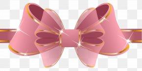 Beautiful Pink Ribbon Clipart Image - Pink Ribbon Clip Art PNG