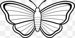 Butterfly Clip Art - Monarch Butterfly Coloring Book Drawing Clip Art PNG