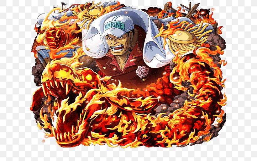 Akainu One Piece Treasure Cruise Borsalino Monkey D. Luffy, PNG, 640x512px, Akainu, Borsalino, Carnival, Character, Donquixote Doflamingo Download Free