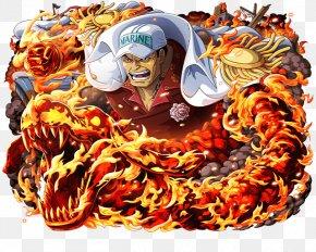 One Piece Treasure Cruise - Akainu One Piece Treasure Cruise Borsalino Monkey D. Luffy PNG