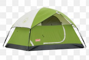 Camp Tent - Coleman Company Tent Camping Outdoor Recreation Backpacking PNG