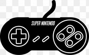 Super Nintendo - Super Nintendo Entertainment System Game Controllers Video Games PNG