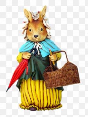 Easter - Easter Bunny Easter Egg Rabbit Easter Postcard PNG