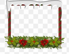 Taobao Page Decoration - Christmas Day Picture Frames Clip Art Image Photograph PNG