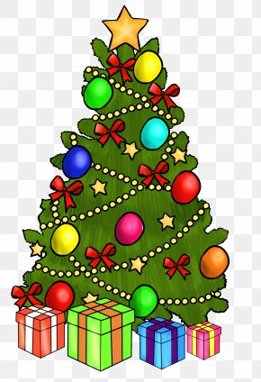 Christmas Clip Art - Christmas Tree Gift Clip Art PNG