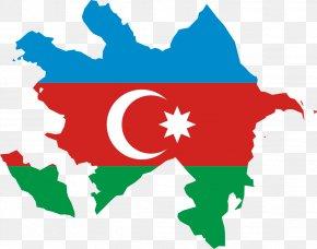 World Flags Clipart - Azerbaijan Soviet Socialist Republic Flag Of Azerbaijan Map PNG