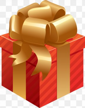 Gift Red Box Image - Gift Christmas Day Clip Art PNG