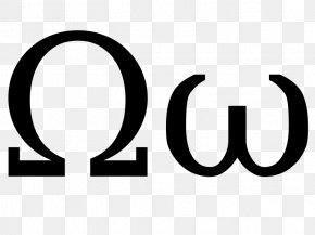 Greek Letters - Greek Alphabet Omega Letter Wikimedia Commons PNG