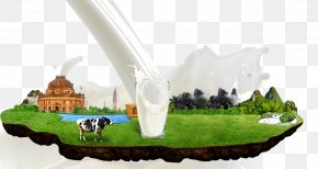 Posters Decorative Elements - Powdered Milk Dairy Product Cow's Milk Dairy Cattle PNG