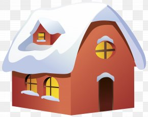 Winter House Transparent Clip Art Image - Winter House Clip Art PNG