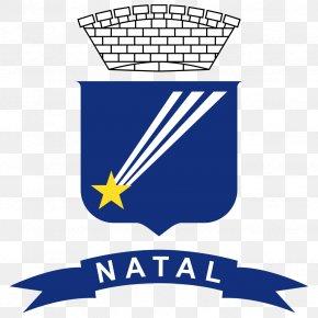 Flag - Greater Natal Coat Of Arms Flag Brasão De Natal PNG