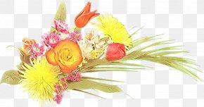 Artificial Flower Flower Arranging - Floral Flower Background PNG
