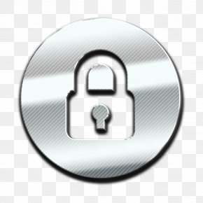 Metal Hardware Accessory - Padlock Icon Security Icon Interface Icon PNG