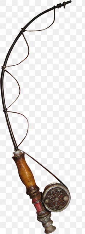 Brown Pretty Fishing Gear - Fishing Rod Fishing Tackle Angling PNG