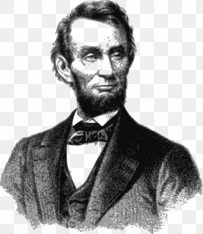 Famous Cliparts - Portrait Of Abraham Lincoln United States Clip Art PNG