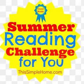 Reading Challenge Maps - Summer Reading Challenge Logo Clip Art Illustration Vector Graphics PNG