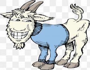 Goat - Fainting Goat Clip Art PNG