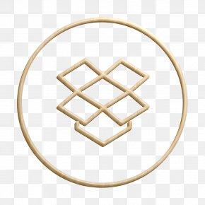 Beige Social Icon - Circles Icon Dropbox Icon Line Icon PNG