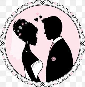 Gesture Groom - Love Silhouette Romance Clip Art Groom PNG