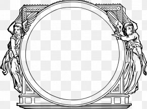Frames Art - Picture Frames Drawing Ornament Clip Art PNG